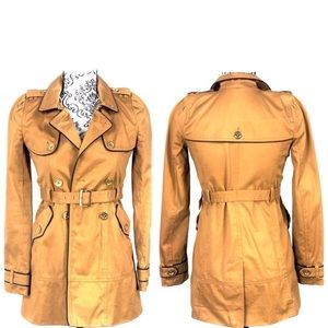 JUICY COUTURE- Twill Trench Coat- Girls